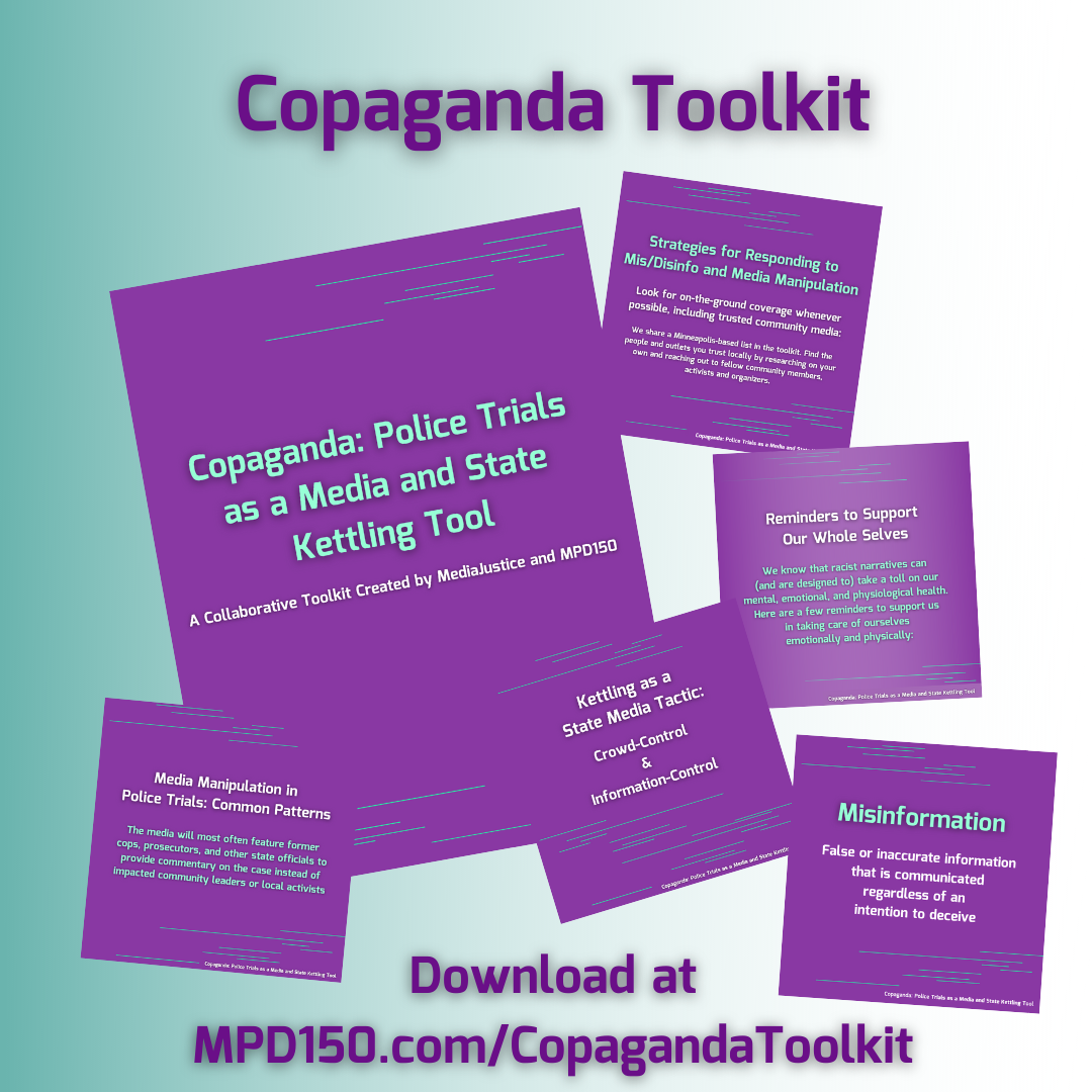 Copaganda: Police Trials as a State and Media Kettling Tool